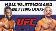 Betting: UFC Hall vs. Strickland Odds