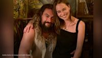 Emilia Clarke and Jason Momoa partied hard at the 'Game of Thrones' reunion