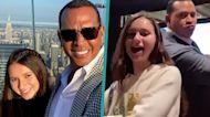Alex Rodriguez & Daughter Natasha Bust A Move To Jennifer Lopez's 'PaTi' Challenge