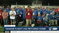 Honor Flight 42 returns home to Bakersfield