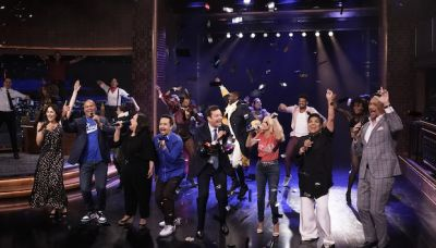 Jimmy Fallon and Lin-Manuel Miranda's Broadway Star-Studded Spin on 'You'll Be Back' Deserves a Standing O