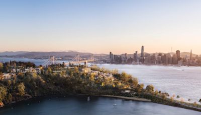 A San Francisco landmass that's neighbors with Treasure Island is getting 266 new luxury homes, some priced at $3 million. Here's what the finished project will look like.