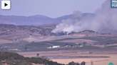 Crews work to contain grass fire in Sonoma County