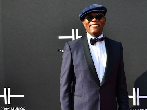 Samuel L. Jackson urges 'Vote Dammit!' in new Biden campaign ad