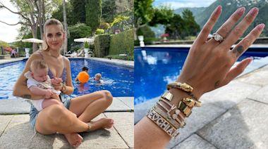 時尚|網紅辣媽炫娃不忘曬珠寶 1個move示範泳池才是秀鑽石的好所在 | 蘋果新聞網 | 蘋果日報