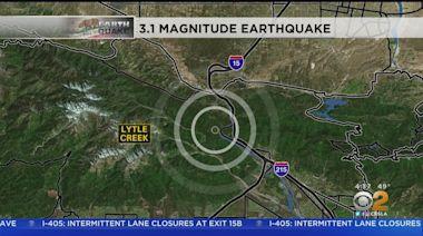 Magnitude-3.1 Earthquake Strikes Near Lytle Creek