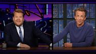 James & Seth Meyers Combine Their Powers for the Planet