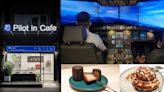 【青埔特色咖啡館】 Pilot in Cafe|專業機師打造全台唯一模擬駕駛機航空主題餐廳