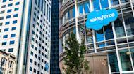 Salesforce stock rises on earnings beat