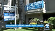 Eviction moratorium extended in Los Angeles