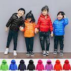 小衣衫童裝   加大版兒童超薄輕盈保暖羽絨連帽外套1061101