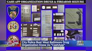 City Police Busts West Baltimore Drug Organization Known As 'Cash App'