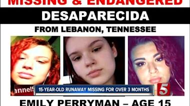 Lebanon 15-year-old has been missing for 3 months