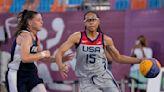 Gamecock Gold! USC alum Allisha Gray wins gold medal in 3x3 basketball