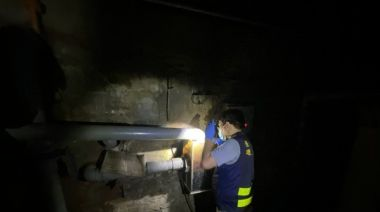 科學儀器助建功 台南三爺溪皮革廠偷排廢水現原形