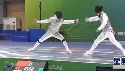 全運會 徐英偉祝賀港隊花劍團體賽再奪銅牌