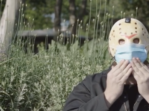 'Friday the 13th' villain Jason Voorhees stars in new PSA encouraging wearing a mask