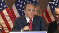 Rudy Giuliani pushes conspiracies