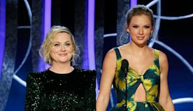 Taylor Swift Presents with Amy Poehler at Golden Globes 7 Years After Controversial Joke