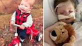"""Selfless Donor's """"Hero Heart"""" Gives Sick 2-Yr-Old 2nd Chance At Life."""
