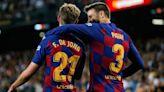 Barcelona's Frenkie de Jong Brutally Trolled By Gerard Pique