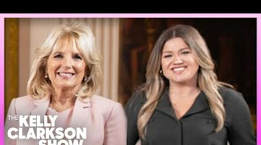 Jill Biden gives Kelly Clarkson some hopeful advice about healing from divorce