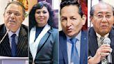 Excongresistas y hermano de actual legislador buscan ser magistrados del Tribunal Constitucional