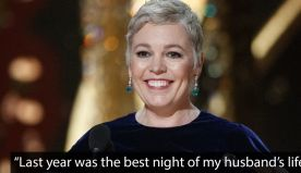 Olivia Colman's Oscars speech deserved an award of its own