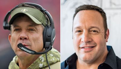 Kevin James Will Play New Orleans Saints Coach Sean Payton in Upcoming Adam Sandler-Produced Movie