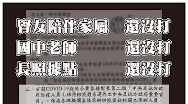 議員疑楊文科保留疫苗「做公關」竹縣府:僅確認是否施打過疫苗