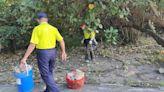 清水義交中隊不僅維護交通安全也關心環境 舉辦淨山淨灘活動 - 社會 - 自由時報電子報