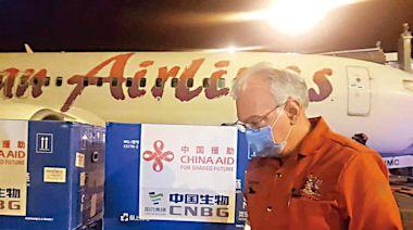 美捐80瓶大肆宣傳 中國捐10萬劑悄然運抵