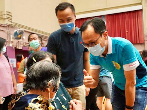 聶德權孖陳肇始工聯會出席活動 為黃大仙200居民接種疫苗