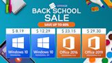 The Best Back To School Software Deals 2021: Windows 10 Pro 'Permanent' Key New Low At 8.19 USD