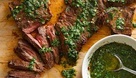 Easy Stovetop Churrasco Steak with Chimichurri | Yummly