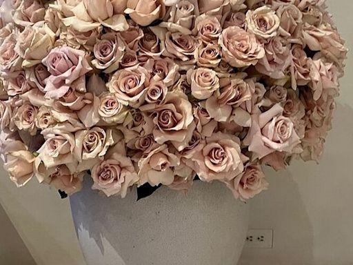Kim Kardashian Shows Off the Room Full of Flower Arrangements She Received on Her 41st Birthday