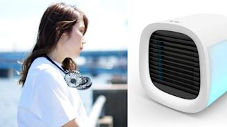 最新爆紅款「夏日消暑小物」5選!懶人掛頸電風扇、隨身迷你冷氣機⋯ 每一樣都沁涼到心底