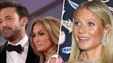 Gwyneth Paltrow reacts to ex Ben Affleck's red carpet appearance with J.Lo