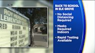 Elk Grove Unified Back In Session, No Social Distancing But Masks Required