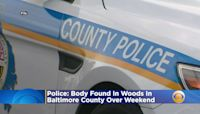 Body Found In Woods In Baltimore County Over Weekend, Police Say