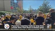 Paperless Ticketing At Heinz Field Leads To Long Lines