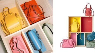Loewe推出質感包款禮盒!日式傳統桐箱裝載超迷你Loewe小包,5種經典款一次收藏