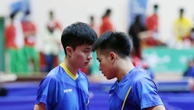 桌球/林昀儒男雙寫連霸 搭檔山豬:隊友太強了!