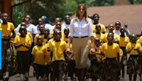 Book: Melania Trump wanted to send mirrors to African children so they could 'see that they are very strong'