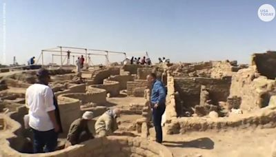 'Lost golden city': 3,000-year-old settlement unearthed in Egypt