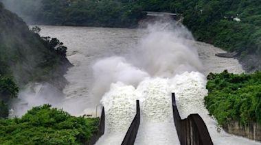 曾文水庫多功能調節放水 帶來水力發電量157.5萬度
