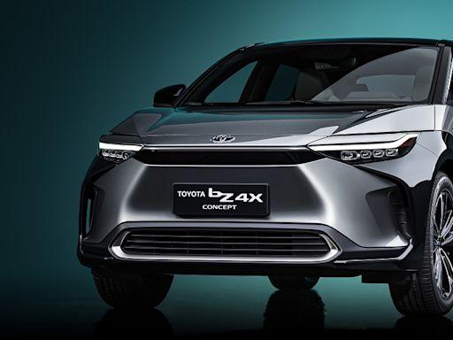 bZ4X電動休旅確定明年量產 Toyota bZ電動車家族成形│TVBS新聞網