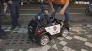 4歲立志當警察 林小弟每天上街巡邏