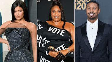 Kylie Jenner, Lizzo, Michael B. Jordan and More Stars Post Thirst Traps to Get Fans to Vote