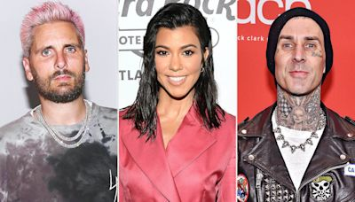Scott Disick Is 'Struggling' with Kourtney Kardashian and Travis Barker's Relationship: Source
